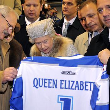 Queen Elizabeth Slovakia