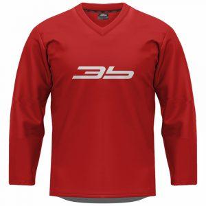 3b tréningový dres - červený