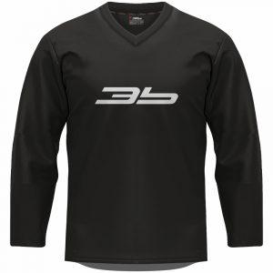 3b tréningový dres - čierny