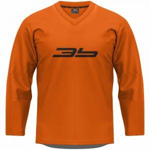 3b tréningový dres - oranžový