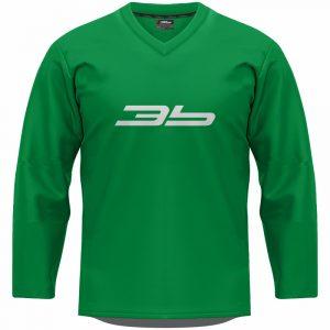 3b tréningový dres - zelený